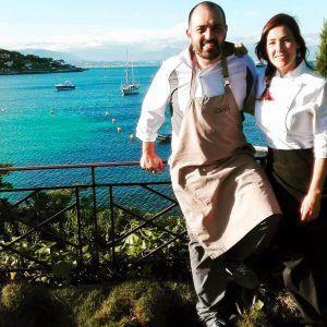 El chef villenense Raúl Martínez de Auroch Restaurante cocina en el Gran Premio de Fórmula 1 en Mónaco